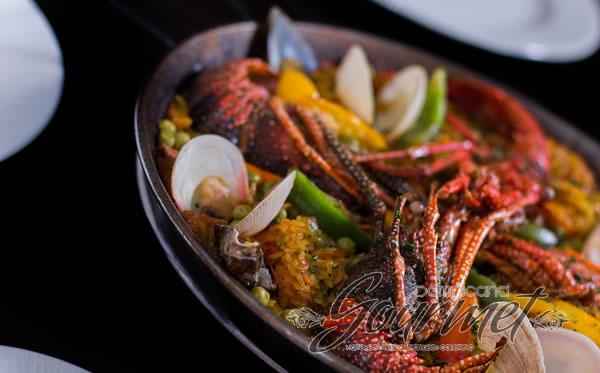 Paella-Uno de los platos estrella del restaurant
