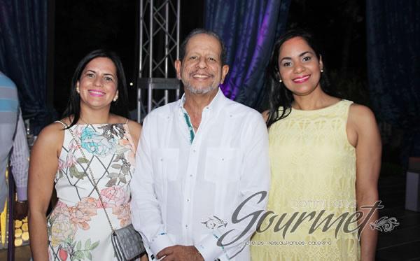 Deyanira Pappaterra, Ernesto Veloz y Elizabeth Guerrero