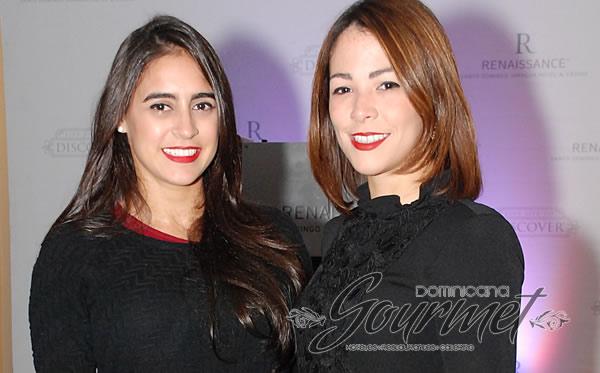 Denisse Troncoso y  Coral LLaneza
