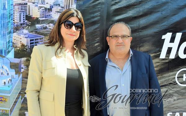 Luisa Feliz y Roberto Chapur