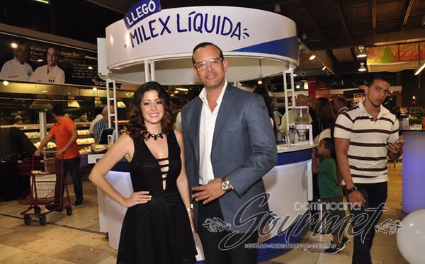 Dafne Guzmán y Randoph Luna