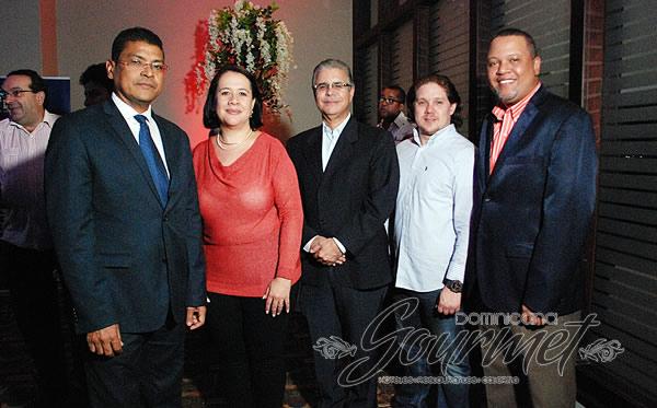 José María Reyes, Lina Matos, Luis José Chávez, Joel Vázquez Juan Febles