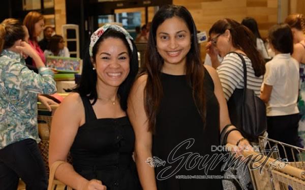 Laudy Díaz y Nadia Abud