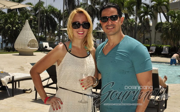 Lissette Catrain y Eric Reyes