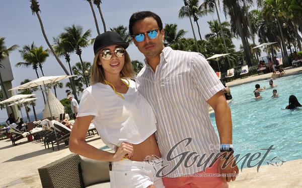Gabriela Desangles y Tommy Terrero