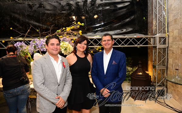 Jorge Disla, Martha Pimentel y William Read