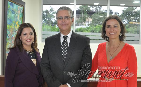 Nerise Suriel, Luis José Chávez y Yanet Acosta