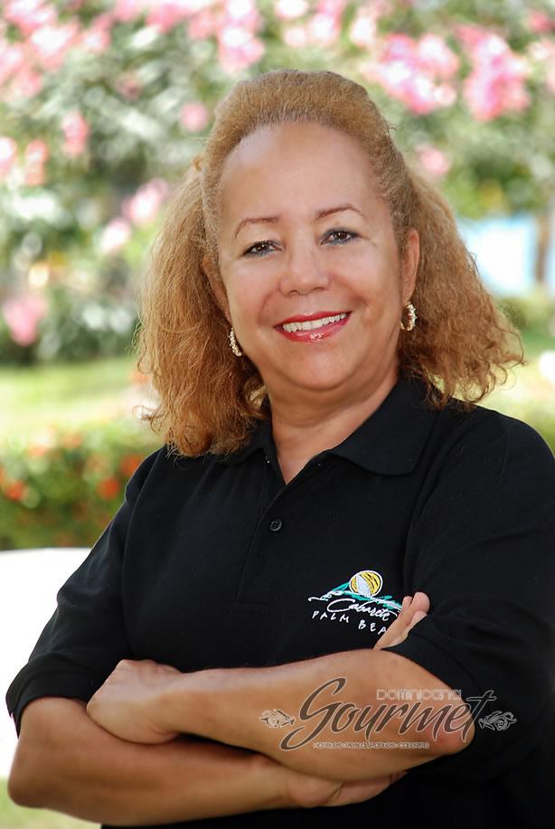 Nelly Andujar de Guzmán, Manager de Cabarete Palm Beach Condos