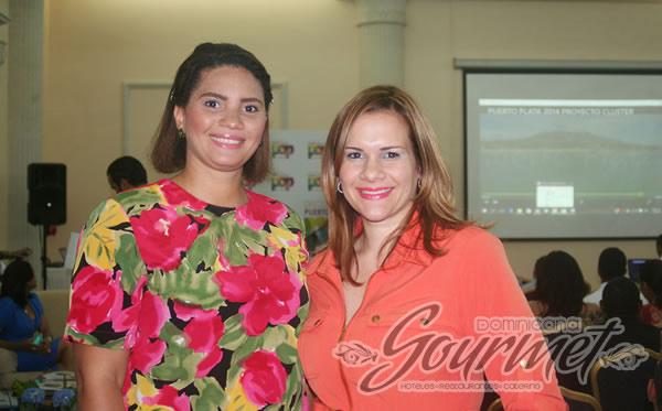 Mariel Vásquez y Mayra Ramón
