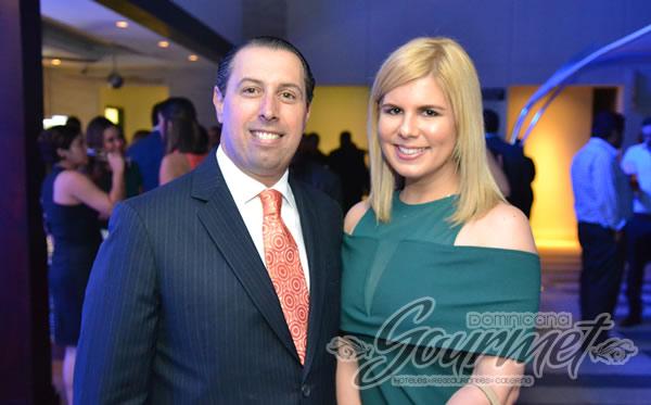 Jose Alfredo Risek y Patricia Mena