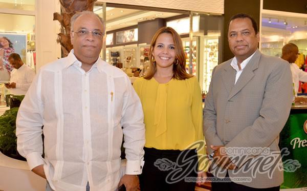 Checheo Rivera, Farah Novoa de Paulino, Samuel Suero